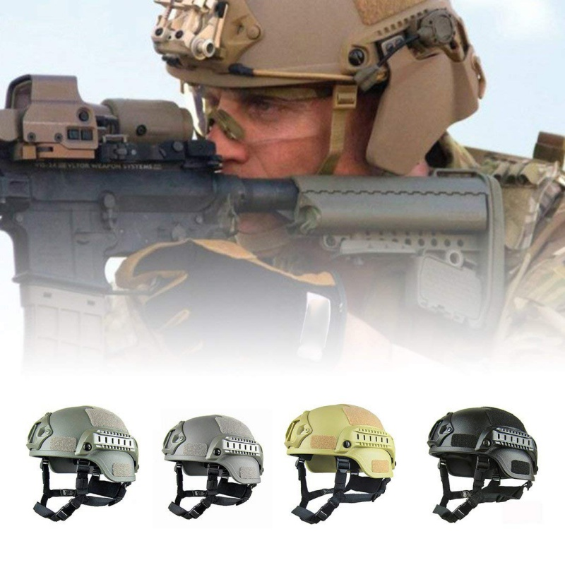 Motorcycle Helmet Half Open Face Adjustable Size Protection Gear Head Helmets Unisex Military Tactical Fast Sports Helmet Safety