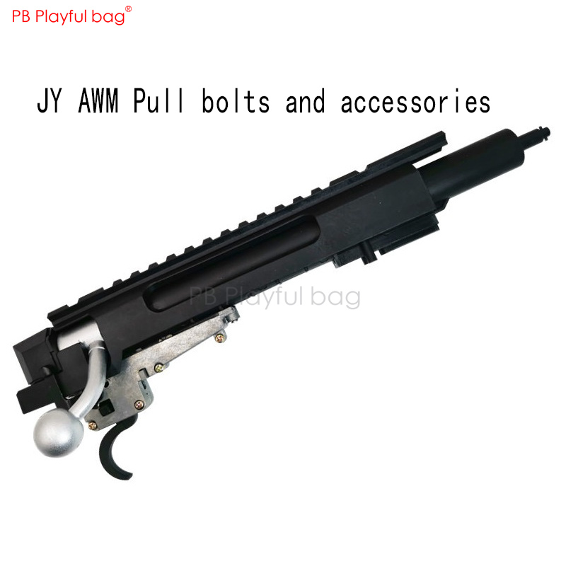 Playful bag Outdoor JY AWM upgrade material trigger pull bolt Refitting accessory gear box spring push nozzle CS toys QE36.1