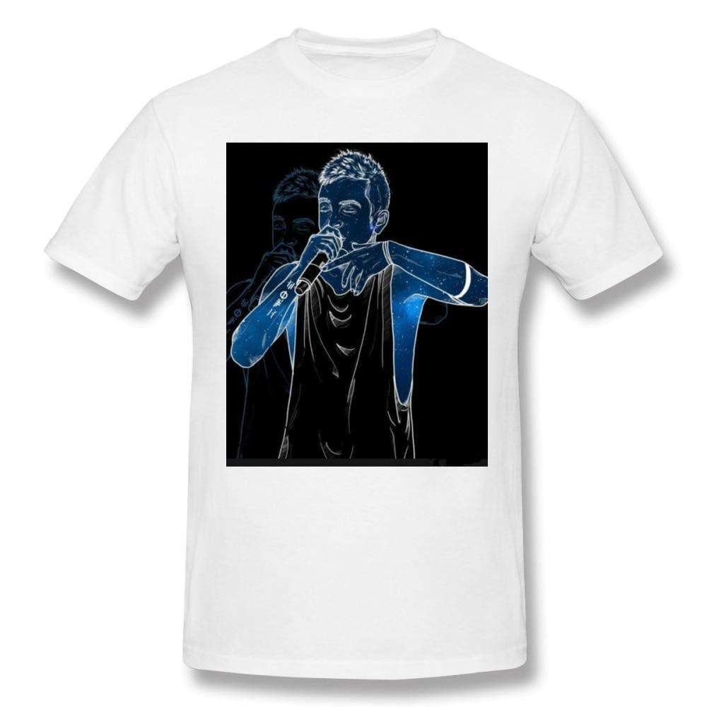 Twenty-one Pilots Singer On Stage t shirt men Casual Fashion Mens Basic Short Sleeve T-Shirt boy girl hip hop t-shirt top tees