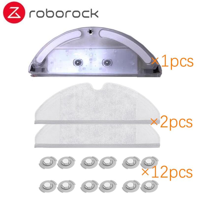 Xiaomi Roborock Robot Vacuum Cleaner Part Kit Side Brush HEPA Filter Mop Cloths Water tank replacements for Xiaomi Roborock