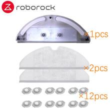 Xiaomi Roborock Robot odkurzacz część zestaw szczotka boczna filtr HEPA Mop Cloths wymiana zbiornika wody dla Xiaomi Roborock tanie tanio ROBOROCK S50 S51 S53 S55 Filtry Odkurzacz części Xiaomi Roborock Robot Vacuum Cleaner 2 Spare Parts For xiaomi robot