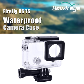 цена на Hawkeye Firefly 8S 7S Wide Angle Cam Case Waterproof Anti-Crash Hard Shell Housing FPV Sports Action for RC Drone