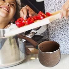 С защитой от ожогов с антипригарным покрытием Кофе емкость для молока маленькая кофейная чашка Еда дополнительная посуда Керамика покрытием маленький, для молока горшок Кухня инструмент 20E