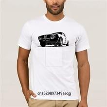 Camiseta de personalidad, geniales camisetas de coche para hombre, Vintage Alfa Romeo GTA, prendas de corredor de carreras, Collar redondo para hombre, camiseta masculina creadora
