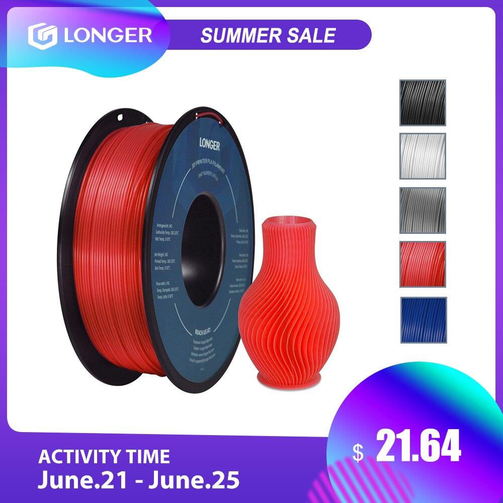 Больше PLA нити 1,75 мм PLA синтетическая для 3D-принтеры 1 кг в рулоне PLA Материал 11 цветов для 3D печатная нить pla 3D-принтеры