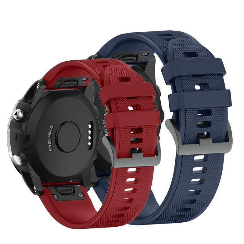 Relógio de Pulso do Silicone Strap Banda
