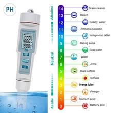 4 in 1 TDS/EC Temp PH Tester Water Quality Monitor Conductivity TDS PPM Detector Acidimeter PH EC Meter for Aquarium Hydroponics