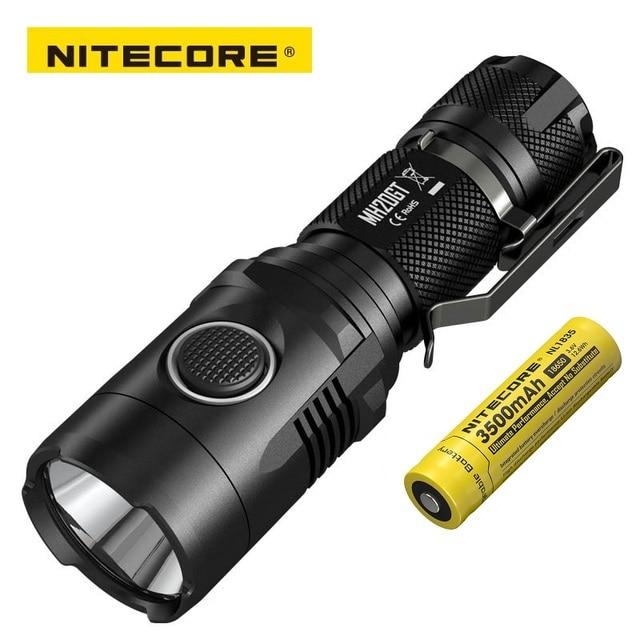 NITECORE MH20GT 충전식 7 모드 1000LMs XP L HI V3 LED 램프 방수 손전등 18650 배터리