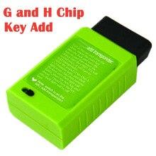 Programmateur de clé de voiture, outil de Diagnostic automatique de voiture, avec puce 4D67/68,72 H, transpondeur supplémentaire, pour Toyota G