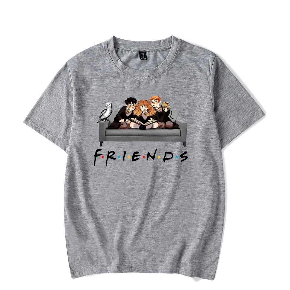 フレンズテレビ番組ファムシャツグラフィック女性のtシャツ原宿夏 90s tシャツストリートレディースtシャツトップスtシャツショートスリーブ