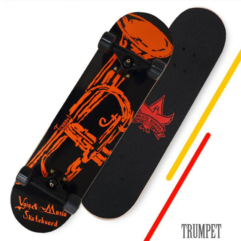 Four-wheel Adults Skateboards Boys And Girls Skate Boards Hip-hop Board