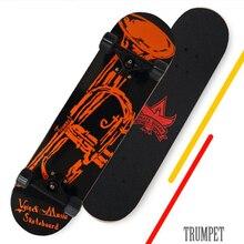 Четыре колеса скейтборд взрослых мальчиков и девочек скейт доски хип-хоп совет
