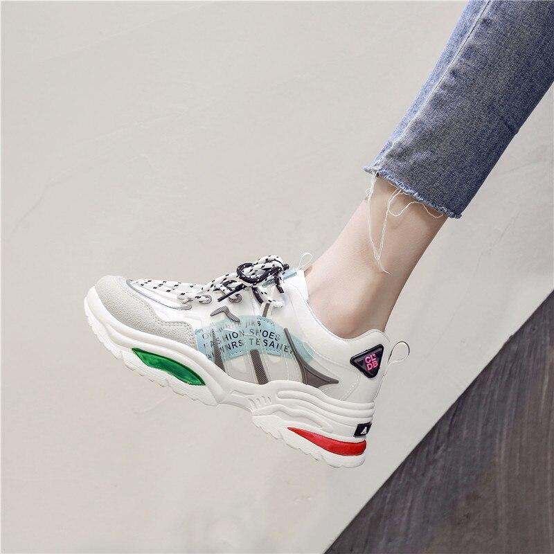 Modne buty damskie sneakersy 2020 obuwie damskie wypoczynek