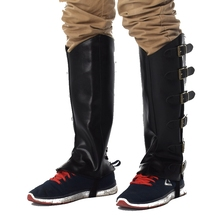 Средневековая мужская обувь с пряжкой; рыцарские Рыцари на шнуровке; высокие ботинки-бронежилет