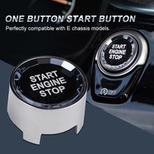 Для BMW одна кнопка запуска кристалл кнопка G/F шасси с запуском и остановкой один ключ крышка переключателя
