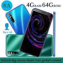 Teléfono Inteligente 8A, versión Global, 4 GB RAM, 64 GB ROM, pantalla de 6,0