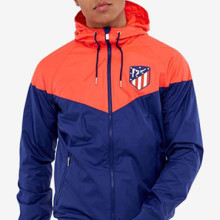Atletico Madrid Football Trench Coat Men's