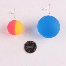 45 Size Elastic Ball Toy Two Yuan Gashapon Machine Elastic Ball Bouncing Ball Children Marbles Smily Face Bouncing Ball(China)