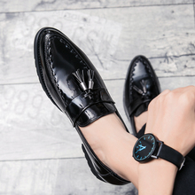Fashion Shoes Men Casual Formal Bullock Business Office Italy Luxury Dress Male Wedding Party Zapatos