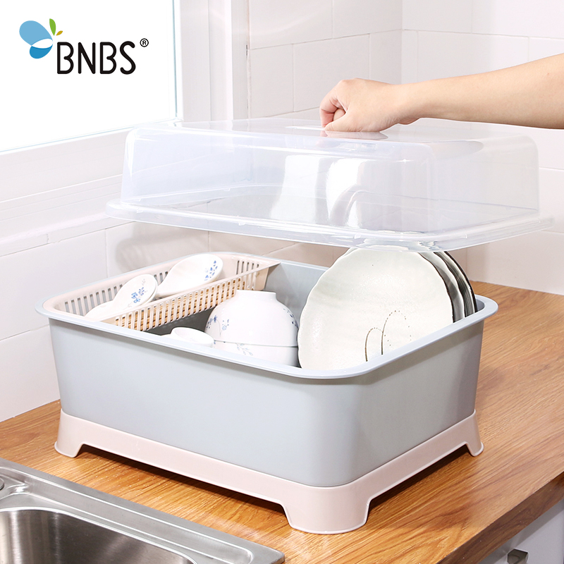 BNBS Kitchen Dish Drainer Rack Organizer For Kitchen Storage Dish Drying Rack Home For Spoons And Forks Dish Rack Over Sink|Racks & Holders| |  - title=