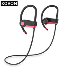 цена на C6 Wireless Sport Sweatproof Bluetooth Headset Noise Reduction Stereo Bass Earphone Hands Free Microphone Earpiece