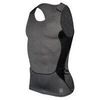 Chaleco deportivo sin mangas para hombre, Camiseta ajustada de compresión para gimnasio, Tops S-XXL, 2019