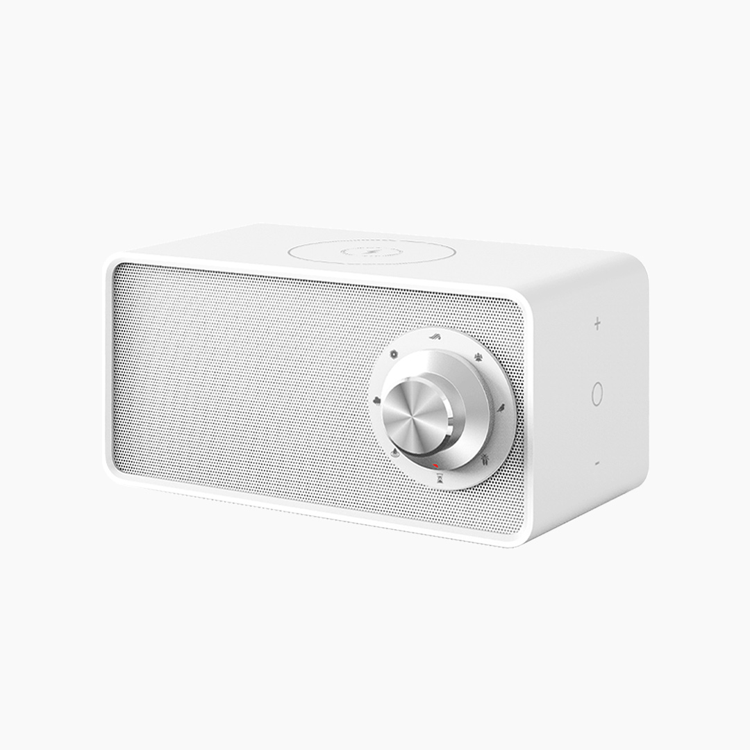 YOUPIN Qualitell White Noise Sound Machine Wireless Charging Sleep Therepy Natural Soothing Sound Touch-Control Sleep Instrument