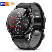 S20 relógio smartwatch touch masculino  a prova d' água ip68  monitoramento de atividades físicas  monitor cardíaco  novo smartwatch para android e ios