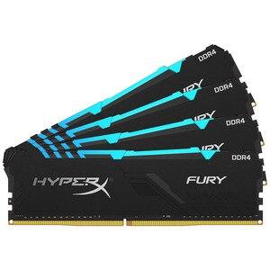 Image 5 - キングストン HyperX フューリー DDR4 RGB メモリ 2666 MHz 3200MHz DDR4 CL15 DIMM XMP 8 ギガバイト 16 ギガバイトメモリア Ram ddr4 デスクトップ用メモリ Rams