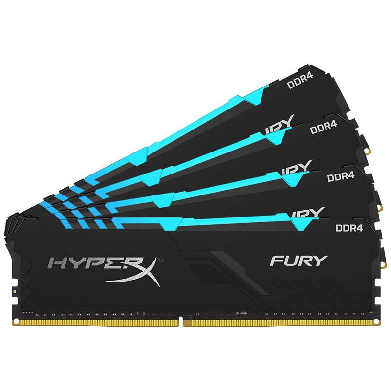 Image 5 - Kingston HyperX FURY DDR4 RGB Memory 2666 MHz 3200MHz DDR4 CL15  DIMM XMP 8GB 16GB  Memoria Ram ddr4 for Desktop Memory RamsRAMs   -
