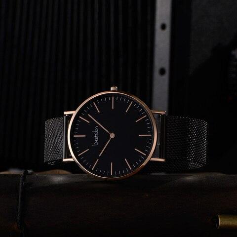 Bestdon Couple Watches Pair Men And Women Watches Minimalist Unisex Fashion 2019 Luxury Brand Quartz Watch Waterproof Relogio Karachi