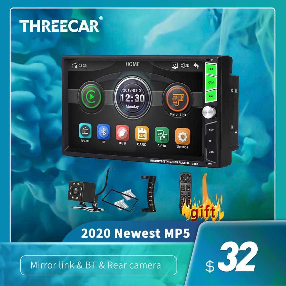 General 2 Din Autoradio Bluetooth Car Radio Stereo MP5 Player Auto Multimidia 7'' Mirror Link Android/IOS Camera 2din 1024*600