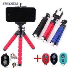 Suitable for mobile phone live octopus bracket tripod lazy mobile phone video universal portable support camera remote control mobile phone holder flexible octopus tripod bracket for mobile phone camera selfie stand monopod support photo remote control