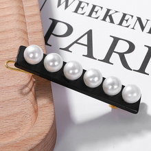 2019 Fashion Simulation Pearl Alloy Hairpin for Women Wedding New Luxury Jewelry Accessories Gifts Party Wholesale