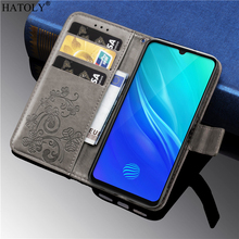 For Vivo S1 Case Luxury PU Leather Flip Cover Wallet Phone Bumper Case