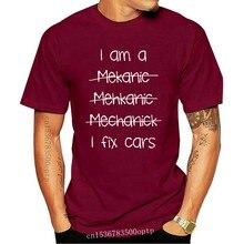 2020 Hot Sale 100% Cotton Comfortable I Am A Mechanic, Mens Funny Car T Shirt - Garage Gift For Dad Him urban Kpop Tee Shirts