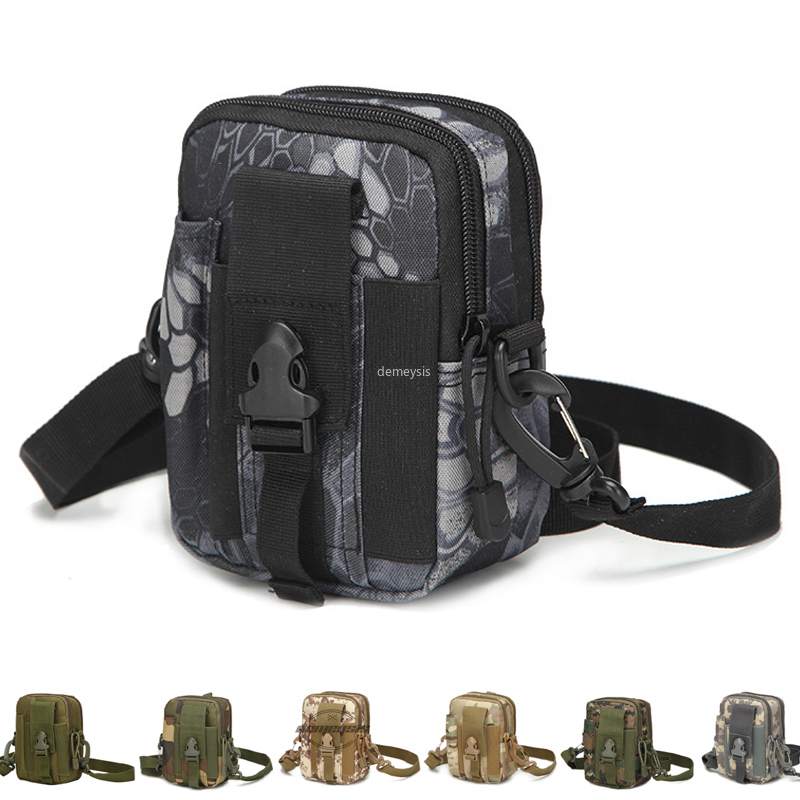 Tactical Molle Pouch Hunting Belt Waist Bag  Outdoor Military Pouches Phone Case Pocket For Iphone