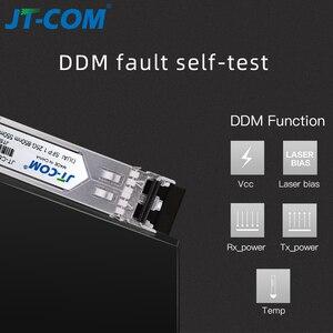 Image 5 - Оптический SFP модуль 1 Гб Gigabit 850 нм 550 м DDM Многомодовый дуплекс LC Mini Gbic 1,25 Г Волоконно оптический SFP модуль Совместимый SFP коммутатор Mikrotik Cisco
