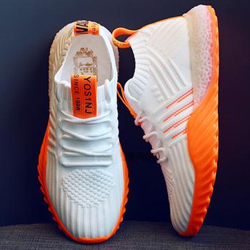 Lekkie wysokiej klasy damskie trampki modne męskie buty płaskie damskie buty modne buty buty terenowe obuwie buty deskorolkowe 2020 tanie i dobre opinie TRY JADE RUBBER Lace-up Pasuje prawda na wymiar weź swój normalny rozmiar Spring2019 JHD574 LEISURE Finał evo Syntetyczny