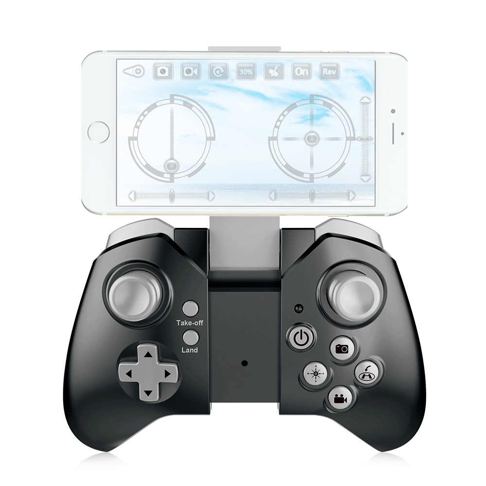 Cuaderno visual XS809HW Wifi FPV 2.0MP 720P 120 visión gran angular HD Cámara plegable de 2,4G autofoto Drone altura espera RC Quadcopter G-Sensor