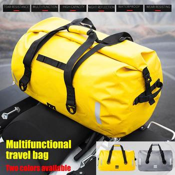 Motorcycle Tail Package Multiple Optional 40L 66L 90L Long-distance Bag Durable Waterproof Large Capacity Waterproof Storage Bag optional drone bag
