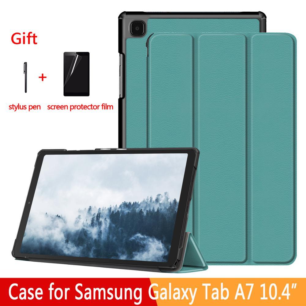 Capinha para samsung galaxy tab a7 10.4 SM-T500/t505 tablet ajustável dobrável suporte capa para samsung galaxy tab a7 10.4 2020 caso