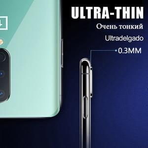 Luxus Transparent Telefon Fall Für Oneplus 7 6T Pro Stoßfest Silikon TPU Abdeckung Für Oneplus 7T 6 Pro volle Abdeckung Weiche Zurück Fällen