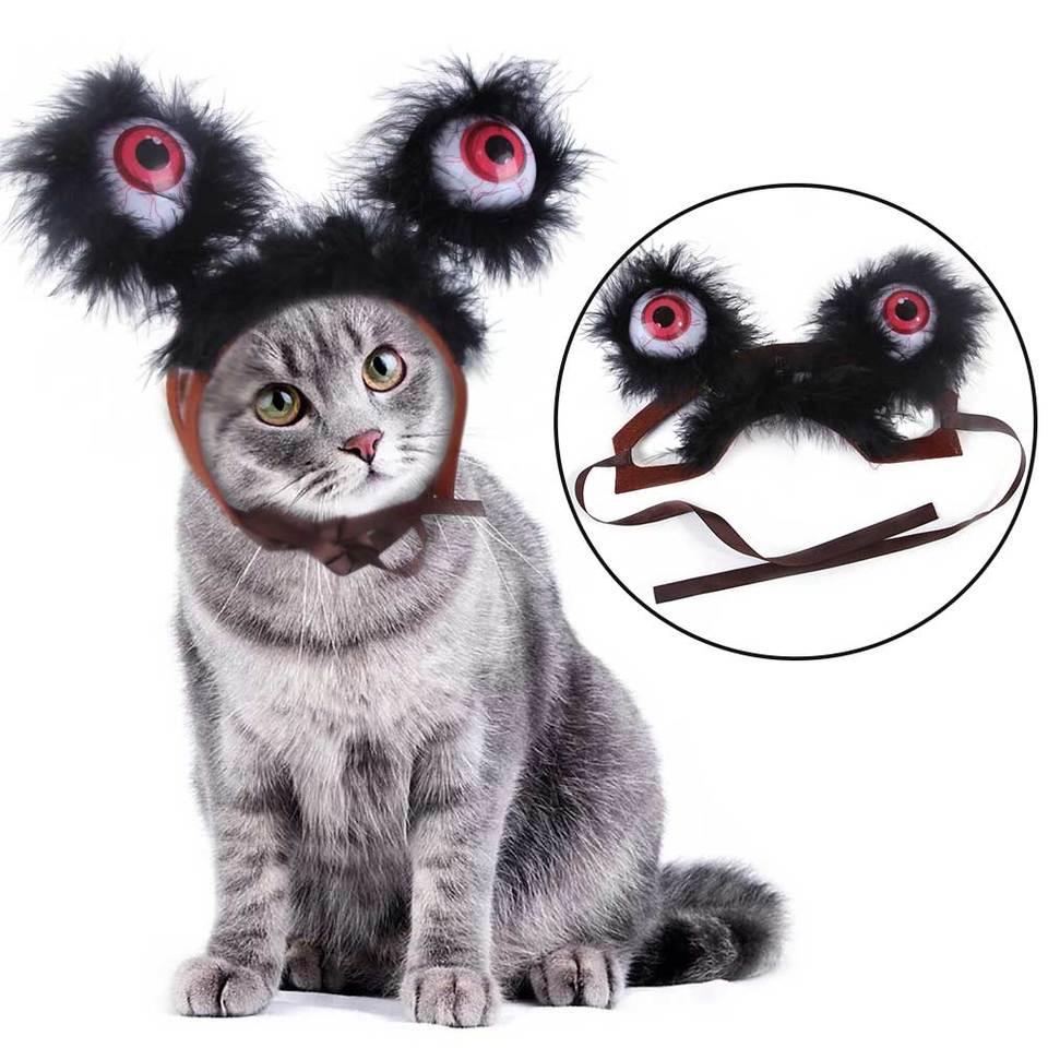 Halloween Decor Headdress Cosplay Funny Battery Powered Photo