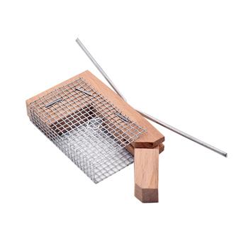 2 sztuk drewniane wprowadzenie klatka Iltis niemcy drewniane klatka na królową pszczelarstwo królowa chów klatka na królową tanie i dobre opinie CN (pochodzenie) QR16-2