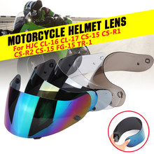 Lentes para casco de motocicleta, visera, lente de cara completa para HJC CL-16 CL-17 CS-15 CS-R1 CS-R2 CS-15