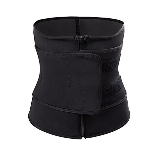 Women Mother Tummy Waist Trainer Cincher Sweat Belt Trainer Hot Body Shaper Slim Shapewear Sweat Belt Waist Cincher Trainer 3