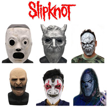 лучшая цена Slipknot Mask /Corey Taylor Cosplay Live TV Slipknot Dj Latex Masks /Halloween Party Props