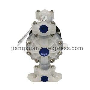 "Image 3 - BML 15P 57L/Min1/2"" PP Material PTFE Plastic Air operated Pneumatic diaphragm pump Double Way Liquid BML 15 Diaphragm Pump"