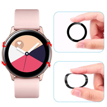 Full screen film for Samsung Galaxy Watch Active 2 40mm 44mm Gear S3 frontier/S2 Polymer Explosion-proof Anti-shock HD glass